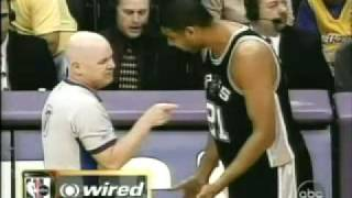 NBA referees wired - featuring Joey Crawford, Tim Duncan and others