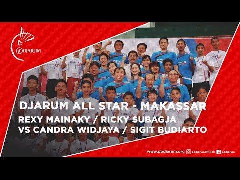 Rexy Mainaky / Ricky Subagja VS Candra Widjaya / Sigit Budiarto (ALL STAR)