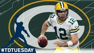"Every Aaron Rodgers 40+ Yard TD! | ""The Hail Mary King"" 