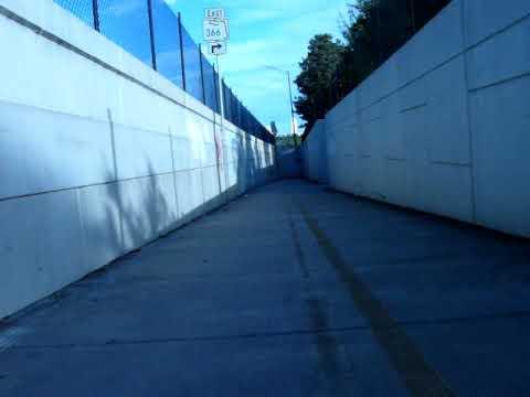 fsu stadium downhill longboarding