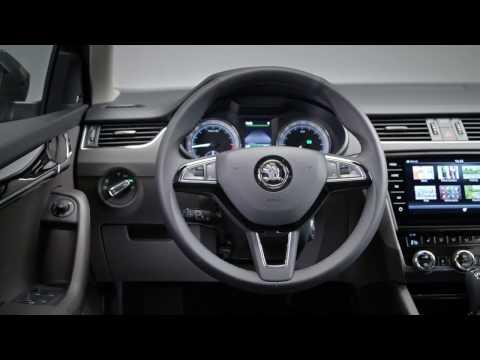 SKODA OCTAVIA COMBI - Interior Design In Studio   AutoMotoTV
