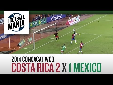 Costa Rica 2x1 Mexico - HIGHLIGHTS - Round 10 - Concacaf WCQ