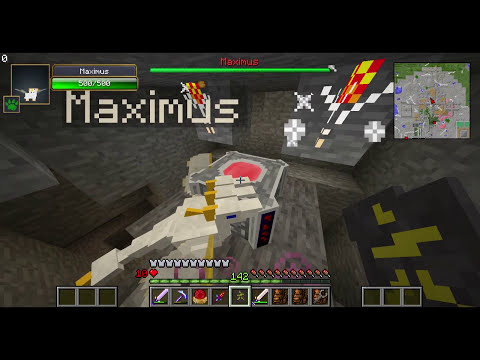 Minecraft Crazy Craft Episode 13: Dark Magic Frustrations