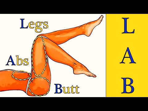L.A.B. workout (Legs. Abs and Buttocks)