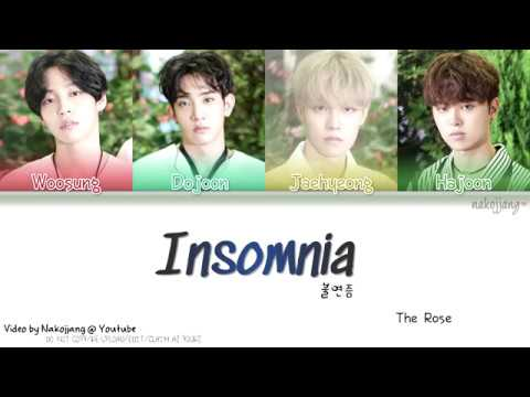 THE ROSE (더 로즈) – 불면증 (INSOMNIA) (Color Coded Lyrics Eng/Rom/Han/가사)