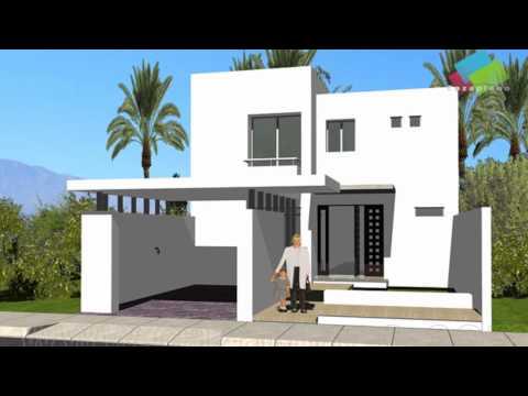 Planos de casas con fachadas