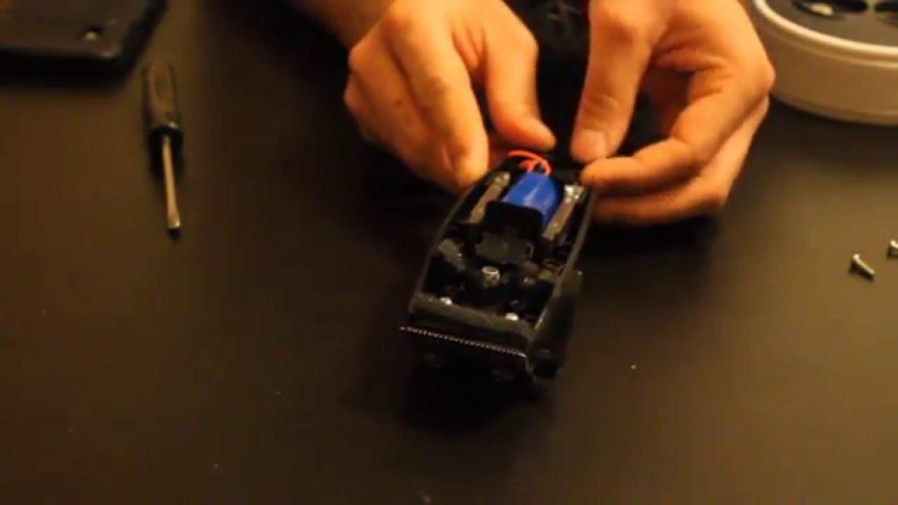 Ремонт машинки для стрижки волос видео
