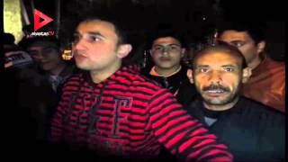 شهود عيان على حادث كفر الشيخ  بعد الانفجار: لقينا حتت لحم طايرة ووقعت علينا