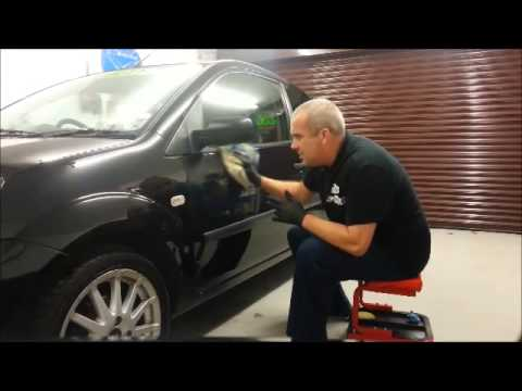 The Car Carer Garage testing a Ceramic protective paint coating. From Ceracoat England. Part 1