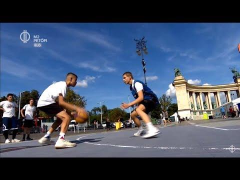 BUDUNKPEST – Nemzetközi Akrobatikus Kosárlabda Kupa a Hősök terén
