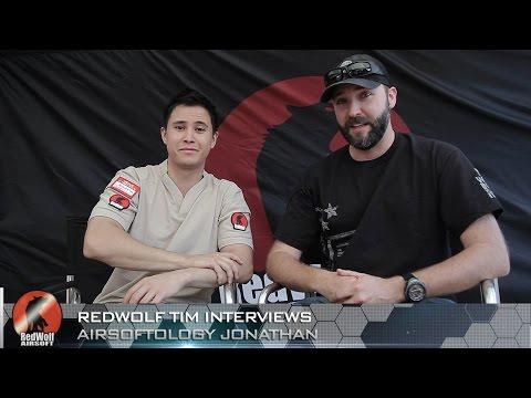 Airsoftology Jonathan Interview - RedWolf Airsoft RWTV