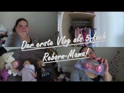 Der erste Vlog mit ADINA MARA! || Reborn Baby Deutsch || Little Reborn Nursery