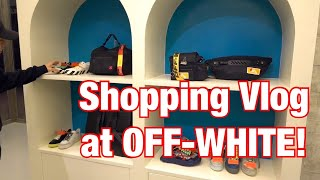 STREETWEAR  SHOPPING VLOG & HAUL: OFF-WHITE MANILA!
