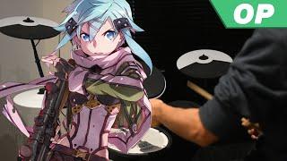 Sword Art Online II OP -【IGNITE】by Aoi Eir - Drum Cover