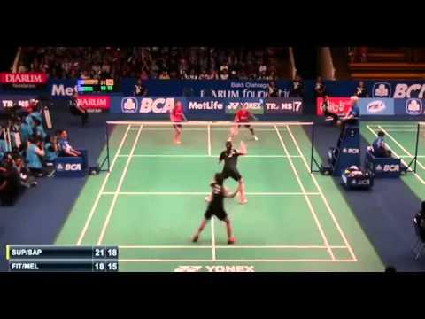 2015 BCA Indonesia Open R32 [WD] Puttita-Sapsiree vs Dian FITRIANI-Nadya MELATI (Sports)
