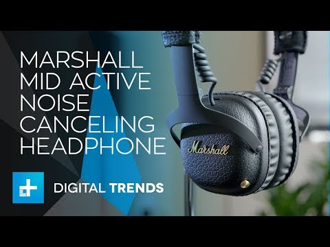 Marshall Mid Active Noise Canceling Headphone - Hands On Review