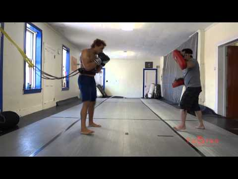 Intense Thai Pad Training Session (MMA, Thai Boxing, Martial Arts, Wayne County, NY, New York) Image 1