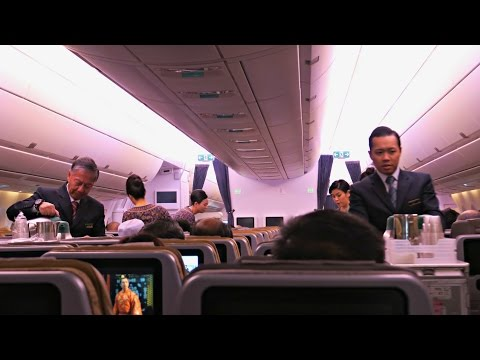 Singapore Airlines A350-900 Flight Experience: SQ119 KUL-SIN