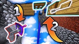 Minecraft TRAP + I Am STONE CHALLENGE! (Minecraft SkyWars Trolling)