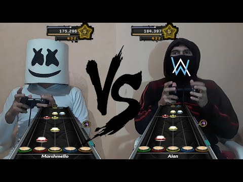 Alan Walker vs Marshmello Batalla Epica #5 (LADO OSCURO ☯ ) | FAN MADE