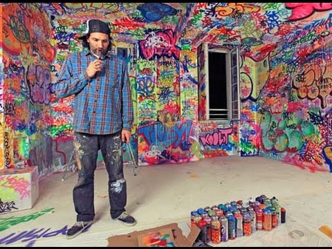 Como decorar mi cuarto juvenil youtube - Habitaciones con graffitis ...