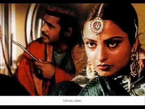 Zindagi Jab Bhi Teri Bazm Mein - Talat Aziz - Umrao Jaan 1981 - Hq . video