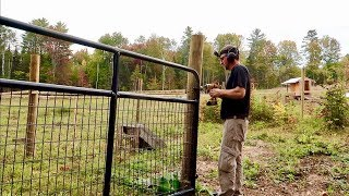#1 Pro TRICK for Installing Farm GATES Is Going to save Us so Much Frustration over the YEARS