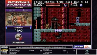 [SGDQ17 Restream FR] Castlevania III: Dracula's Curse (Trevor only)
