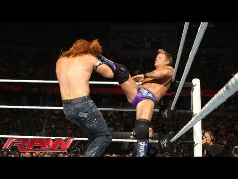 Raw - Chris Jericho vs. Heath Slater: Raw, June 17, 2013