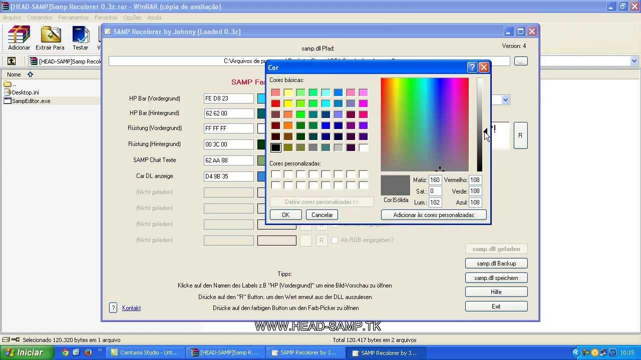 Samp recolorer 0.3 z