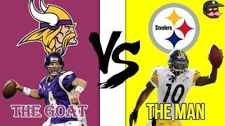 Greatness From The Past Vikings vs Steelers 2009