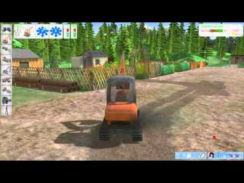 PC Digger Simulator 2011 3D video game trailer - PC