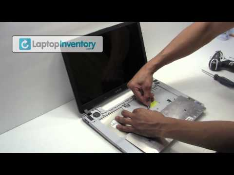 Sony Vaio Laptop Repair Fix Disassembly Tutorial   Notebook Take Apart. Remove & Install VGN-FS