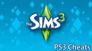 The Sims 3 PS3 Cheats (2015)