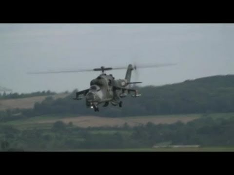 Huge MI-24 Hind - RC Heli Turbine Power