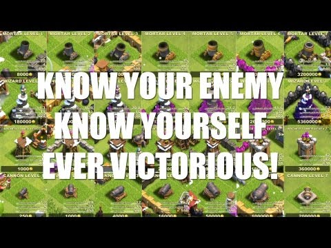 Clash of Clans - Part 11 - Know your enemy. know yourself. ever victorious!