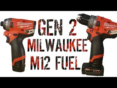 2nd Generation Milwaukee M12 Fuel - First Look