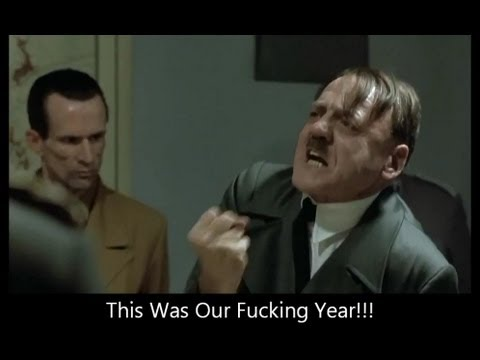 Hitler finds out The Chicago Bears weren't in this year's playoff and didn't move on to Super Bowl XLVII. He was obviously devastated to learn the truth. Better luck next season. A scene...