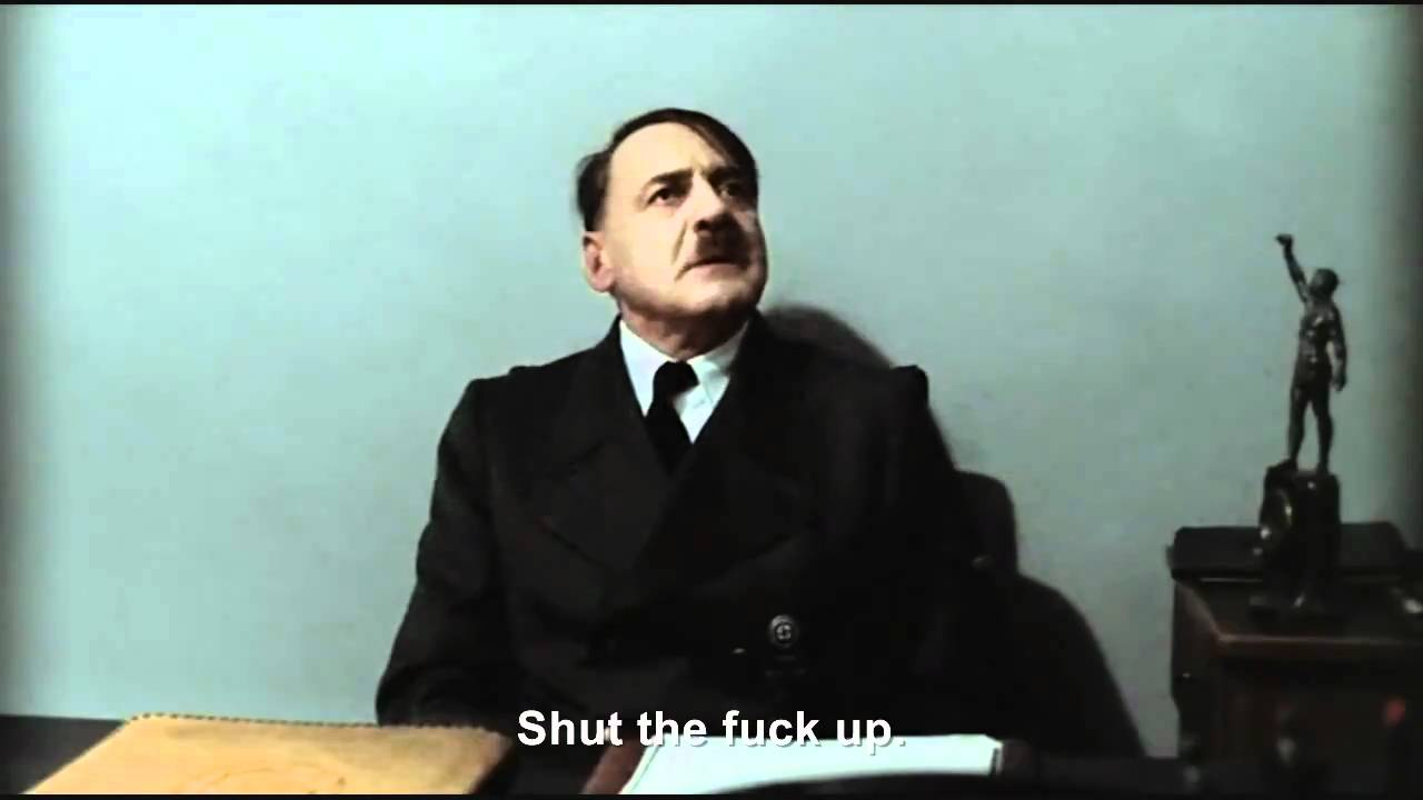 Hitler is informed by everyone
