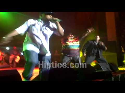 Busta Rhymes &amp; MOP Perform Ante Up @ Rock The Bells DC-Maryland