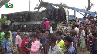 সড়ক দুর্ঘটনায় গাইবান্ধায় ১৬ জনসহ নিহত ৩২ | Road Accident | Bipul | 23Jun18