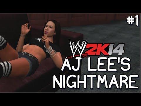 FREDDIE KRUEGER | WWE2K14 Story | AJ Lee