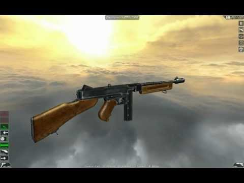 Thompson M1928A1 (full disassembly and operation)