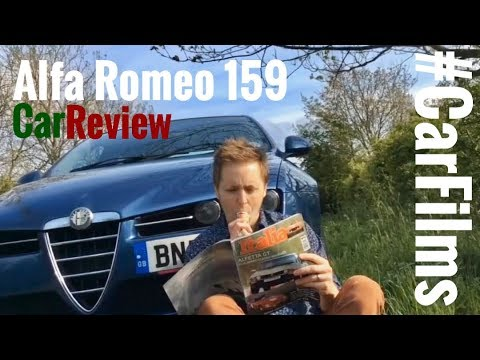 Alfa Romeo 159 JTDM car review film