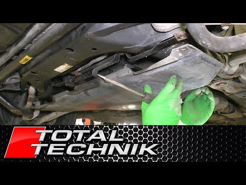 How to Remove AUDI Gearbox Undertray Cover (Most Models) - Total Technik