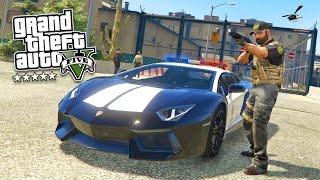 GTA 5 PC Mods - PLAY AS A COP MOD #12! GTA 5 Sheriff Police Mod Gameplay! (GTA 5 Mod Gameplay)