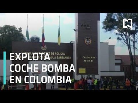 Autoridades de Colombia investigarán atentado en Bogotá - Expreso de la Mañana