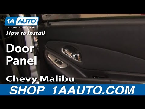 How To Install Replace Rear Door Panel 04-08 Chevy Malibu 1AAuto.com