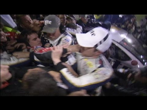 Jeff Gordon and Rival Brad Keslowski Throw Down in NASCAR Brawl