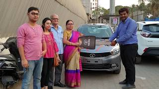 Taking Delivery of Tata Tiago Compact Family Car|Key Handover,Exterior&Interior|Happy Moments